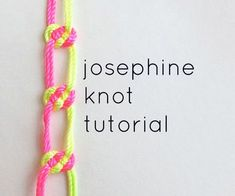 Picture of josephine knot