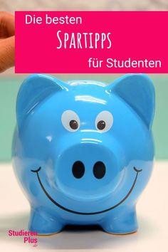 Studenten haben oft kein Geld. Mit diesen 12 Spartipps für Studenten, kannst du dir alles leisten, was du brauchst ohne am Hungertuch zu nagen. Piggy Bank, Students, Training, Money Box, Money Bank, Savings Jar