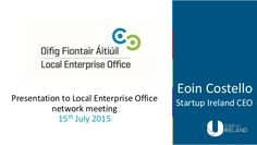 Presentation to Local Enterprise Office national network meeting
