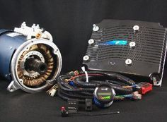 electric car parts conversion motor warp impulse netgain series DC
