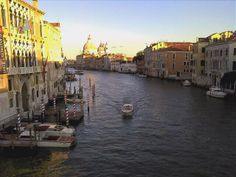 One day I will ride in a Venice Water Taxi.