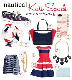 Daughter of a Son of a Sailor: Nautical Kate Spade New Arrivals