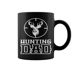 Hunting Dad HOT MUG : coffee mug, papa mug, cool mugs, funny coffee mugs, coffee mug funny, mug gift, #mugs #ideas #gift #mugcoffee #coolmug