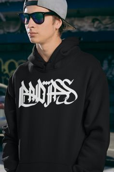 Badass Graffiti Hoodie and many more by MAS STREETWEAR. #mas_wear Graffiti, Streetwear Shop, Hoodies, Sweatshirts, Stylish Outfits, Badass, Latest Trends, Street Wear, Mens Fashion