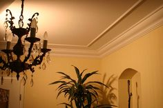 Buy Inexpensive Styrofoam Crown Moldings - Carved or Plain - Made in Germany. Six and a half feet for under $20