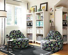 Teen Hangout Room Ideas & Dandy Dot Leanback Lounge | PBteen Teen Lounge Rooms, Teen Hangout Room, Kids Rooms, Youth Rooms, Play Rooms, Teen Rooms, Driven By Decor, Teen Furniture, Teen Decor