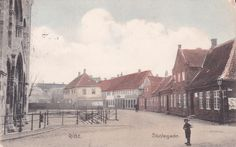 Skolegade Ribe 1910