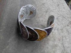 #Brazalete con #capsulas #nespresso recicladas  #HOWTO #DIY #reducir #reciclar #reutilizar