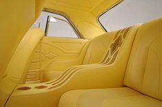 1962 Chevrolet Impala - Breaking the Mold & Breaking Bad Custom Car Interior, Truck Interior, Car Interior Upholstery, Auto Upholstery, 1962 Chevy Impala, Custom Consoles, Lux Cars, Best Luxury Cars, Aluminum Radiator