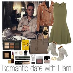 How To Wear Romantic Date With Liam Outfit Idea 2017 - Fashion Trends Ready To Wear For Plus Size, Curvy Women Over 20, 30, 40, 50