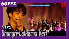 60FPS 1080P   VIXX - Shangri-La (Remix Ver.), 빅스 - 도원경(리믹스 버전) @MBC Musi...