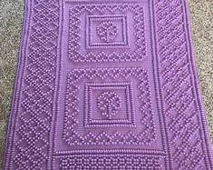 Ravelry: 47 Picture Frame pattern by Tricia Crow Bobble Crochet, Crochet Afgans, Manta Crochet, Crochet Bebe, Crochet Baby Blanket Free Pattern, Knitted Afghans, Crochet Blankets, Afghan Crochet Patterns, Digital Pattern