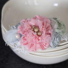 Little Girl headbands DIY fabric flowers