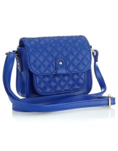 Quilted Pocket Mini Bag