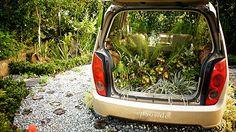 Creative Garden landscape Car    #Car, #Creative, #Garden