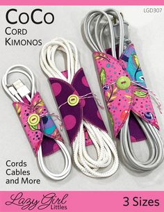 Sewing Gifts For Kids CoCo Cord Kimonos sewing pattern from Lazy Girl Designs Sewing Hacks, Sewing Tutorials, Sewing Crafts, Sewing Tips, Sewing Ideas, Bag Tutorials, Kimono Sewing Pattern, Sewing Patterns Free, Sewing Paterns