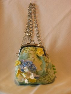 EmilyFloral Hydrangea Party Bags by fancibags by fancibags on Etsy, $55.00