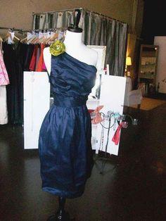 blue bridesmaids dresses   Navy Blue Bridesmaid Dress   Bridesmaids and Weddings