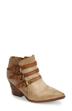 A.S.98+'Stanford'+Leather+Western+Bootie+(Women)+available+at+#Nordstrom