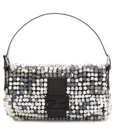 Fendi - BAGUETTE SEQUIN EMBELLISHED SHOULDER BAG