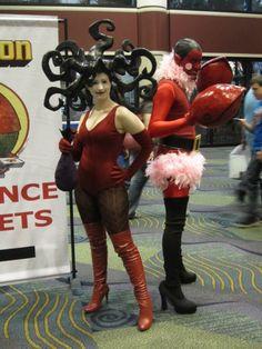 Sedusa and Him. Powerpuff girls cosplay