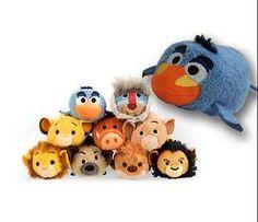 7 #styles disney tsum tsum lion king #mufasa simba rafiki #plush toys with chain,  View more on the LINK: http://www.zeppy.io/product/gb/2/152228420732/