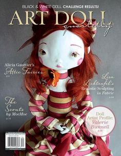 The summer issue of Art Doll Quarterly is available now and features everything from fairies to girl scouts to Mardi Gras performers.