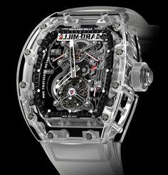 Richard Mille | RM 56-01 Tourbillon Sapphire | Others | Banco de Dados de Relogios | watchtimebrasil.com.br
