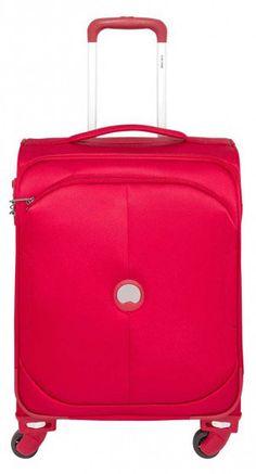Delsey   U-Lite Classic   Kabinentrolley   55 x 40 x 20 cm   in rot, schwarz, blau & in anderen Grössen erhältlich   #Handgepäck #Reise