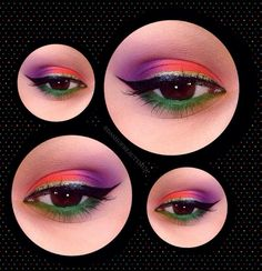 I love this look from @Sephora's #TheBeautyBoard http://gallery.sephora.com/photo/colorful-6952