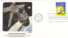 1981 Understanding the Sun Space Accomplishments abc First Day Covers, United States, Sun, Explore, Stamps, Seals, Postage Stamps