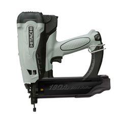 HITACHI Power Tools: Produits > Outils à air comprimé > Cloueuse Au Gas Sans Fil > NT50GS Cloueuse À Finition au gaz 2 po calibre 18, 3.6V…