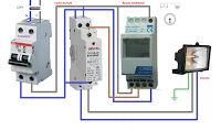 Esquemas eléctricos: RELOJ CONTACTOR