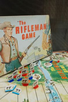 The Rifleman! Milton Bradley, 1959.