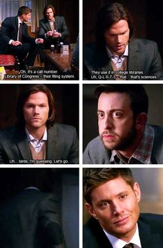 library supernatural | #sam knows the library of congress system #lc #spn
