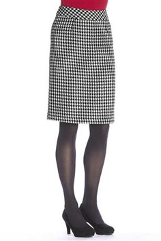 Wool Pencil Skirt: Classic straight skirt styling in a warm wool blend that's fully lined for added quality. A wardrobe essential that's timeless and tasteful with just a touch of chic.