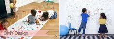 Les coloriages géants OMY Design & Play, une idée animation anniversaire que les enfants adorent!
