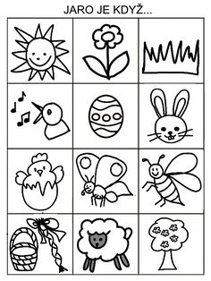 Drawing Tutorials For Kids, Drawing For Kids, Easter Activities For Kids, Crafts For Kids, Worksheets For Kids, Baby Play, Paper Toys, Spring Crafts, Easter Crafts