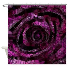 #Rose_-_Abstract_006 #Shower_Curtain #JAMFoto #Cafepress.com