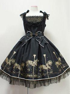 Angelic Pretty / Jumper Skirt / Twinkle Carnival Spínací JSK