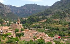 Valldemossa is a beautiful town that is located in the Northwest part of Mallorca about 15 kilometers north from Palma de Mallorca. The town is surrounded by the Tramuntana mountain range, therefore the easiest access to Valdemossa is from the south. Other directions are a bit more challenging mountain roads.  There are also a lot of bus excursions to Valldemossa available from the surrounding resorts.