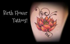 Zodiac tattoos can be pretty cool, but nothing compares to getting your birth flower! A unique and special meaning for you, plus these designs just can't be beat.