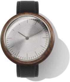 Auteur Stainless steel & Walnut Wood Watch  REVOLUTION I