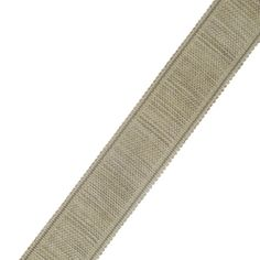 """French General 1.75"""" Manon Trim Hemp from @fabricdotcom  Use this versatile trim tape for accents on draperies, valences, duvet covers, and toss pillows."""