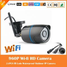 26.50$  Watch now - http://aliiko.shopchina.info/1/go.php?t=32769655757 - Wi Fi 1.3mp 960p Bullet Ip Camera Outdoor Wireless Surveillance Motion Detect Waterproof Webcam Cmos Freeshipping Hot Sale   #magazineonlinebeautiful