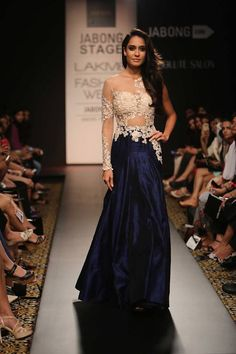 Ridhi Mehra 6 Lakmé Fashion Week Winter 2014.
