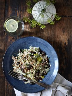 Triple Fennel and Spelt Salad | by Sarah Britton