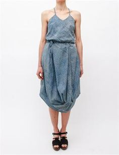 Rachel Comey Corbey Dress - Block Stripe