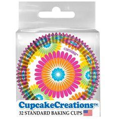 Color Burst Standard Cupcake Cases