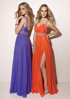 Chiffon One Shoulder Sweetheart Floor-length Prom Dress